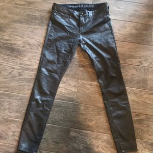Articles of Society coated jegging